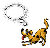 Счастливое dog-100 бесплатная иллюстрация