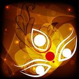 Счастливое Durga Puja бесплатная иллюстрация