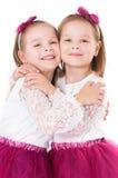 счастливые близнецы Стоковое Фото
