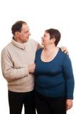 Счастливые пары. Стоковая Фотография