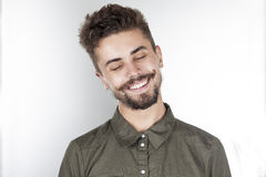 счастливые детеныши человека Стоковая Фотография