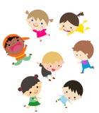 Счастливые дети Стоковое фото RF