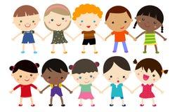 Счастливые дети Стоковые Изображения