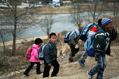 Счастливые дети Стоковые Фото