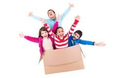 Счастливые дети Стоковая Фотография RF