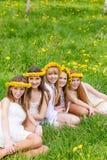 Счастливые дети Стоковая Фотография