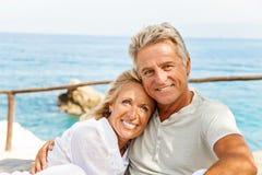 Счастливые зрелые пары Стоковое Изображение