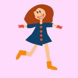 Счастливые красные волосы Стоковые Изображения