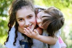 Счастливые моменты семьи Стоковое Фото