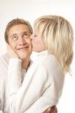 Счастливые молодые пары Стоковое Изображение RF