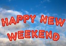 Счастливые новые выходные Стоковые Фотографии RF