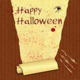 Счастливые обои хеллоуина кровопролитные Стоковое Изображение RF