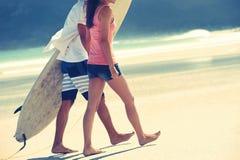 Счастливые пары Бразилии Стоковое Изображение RF