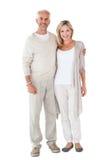 Счастливые пары усмехаясь на камере совместно Стоковое Изображение