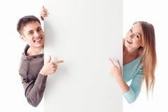 Счастливые пары Стоковые Фото