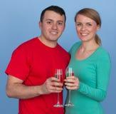 Счастливые пары Стоковое Фото