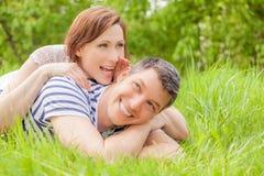 Счастливые пары Стоковые Изображения RF
