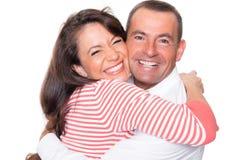 Счастливые пары Стоковые Изображения
