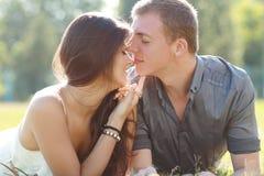 Счастливые пары Стоковая Фотография