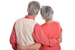Счастливые пожилые пары Стоковые Изображения RF