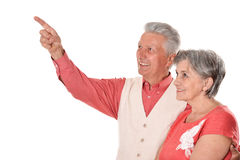 Счастливые средн-постаретые пары Стоковые Фотографии RF