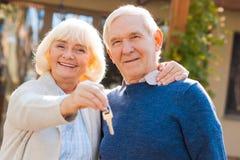 счастливые старшии Стоковое фото RF