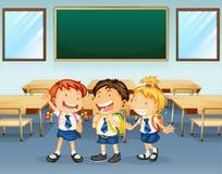 Счастливые студенты Стоковые Фотографии RF