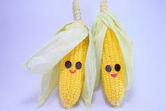 Счастливые corns Стоковое Изображение