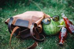 счастливый арбуз Стоковое Фото