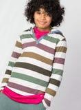 Счастливый африканский пристойный ребенок Стоковое Изображение