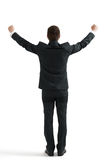 Счастливый бизнесмен в официально носке Стоковое Изображение