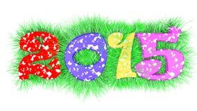 Счастливый год 2015 Стоковое Фото