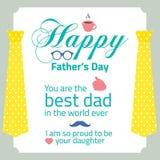 Счастливый День отца Стоковые Фото