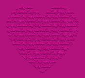 Счастливый день валентинки! карточка Стоковое Изображение RF