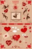 Счастливый день валентинок Стоковая Фотография