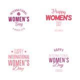 Счастливый день женщин Стоковая Фотография RF
