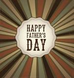 Счастливый день отцов Стоковое Фото