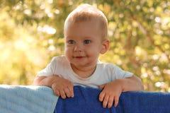 Счастливый летний день ребенк Стоковое фото RF
