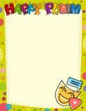 Счастливый знак пробела Purim Стоковая Фотография RF