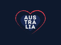 Счастливый дизайн вектора дня Австралии Стоковая Фотография RF