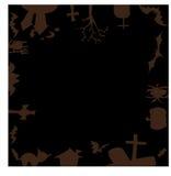 Счастливый дизайн вектора хеллоуина Стоковое фото RF