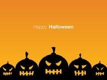 Счастливый дизайн дисплея карточки праздника хеллоуина Стоковое фото RF