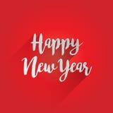 Счастливый дизайн литерности Нового Года Стоковые Фотографии RF