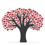 Счастливый дизайн карточки дня валентинки Стоковая Фотография RF