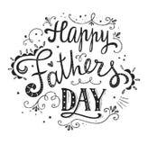 Счастливый дизайн дня отцов Стоковое Изображение