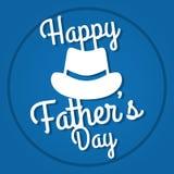 Счастливый дизайн дня отцов Стоковое Фото