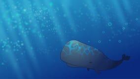 Счастливый кит Стоковые Фото