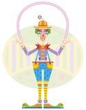 Счастливый клоун Стоковое Изображение RF