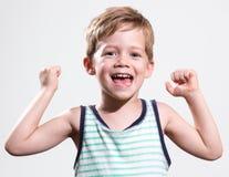 счастливый малыш стоковое фото rf
