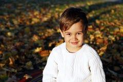 счастливый малыш Стоковое Изображение